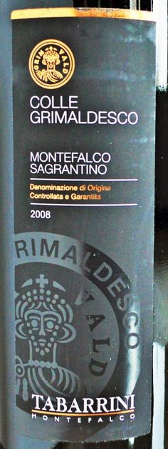 Tabarrini Sagrantino Montefalco | WTSO Wines | Best Red Wines Under $50 | Reviewed by @TheFermtdFruit