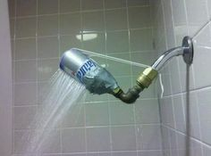 Natty Light fixes all problems. | 33 DIY Projects That Should Have Never Happened
