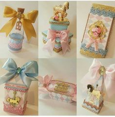 Gift Wrapping, Box, Birthday, Party, Gifts, Biscuit, Enchanted Garden, Party Favors, Unicorn Party