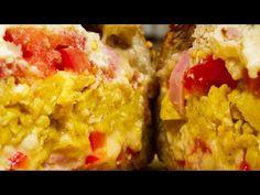 Pâine umplută - YouTube Grains, Rice, Cooking Recipes, Youtube, Food, Chef Recipes, Essen, Meals, Eten