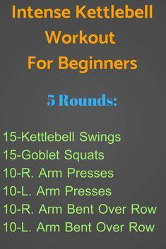 intense kettlebell workout for beginners. #homeworkouts #workouts #kettlebellworkout https://www.kettlebellmaniac.com/kettlebell-exercises/