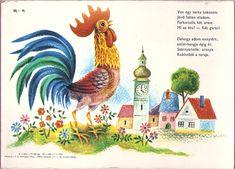 Albumarchívum Farm Animals, Tarot, Activities For Kids, Rooster, Kindergarten, Preschool, Album, Painting, Children Activities