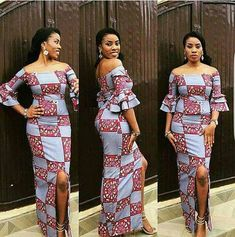 African maxi dress,African print dress,African clothing,African m… Women Fashion African Maxi Dresses, African Attire, African Wear, African Women, Ankara Gown Styles, Latest Ankara Styles, Ankara Gowns, High Street Fashion, Ankara Stil
