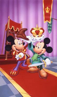 Mickey and Mickey ❤