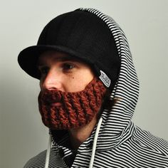 The beard cap. AKA the coolest thing ever.