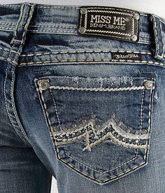 Miss Me Destructed Boot Stretch #Jeans