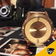 Tira tempo para ti e para o que mais gostas de fazer #egowatches #gofightyourself #peace #gold #photos #pics #memories
