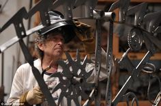 Weld I never: Bob Dylan at his iron works studio