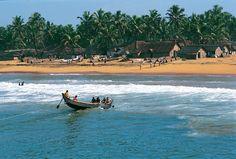 Kerala India beach