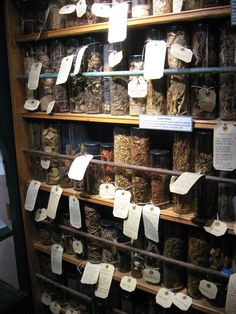 The Museum of Witchcraft and Magic, UK Kitchen Witchery, Practical Magic, Witch Aesthetic, Healing Herbs, Book Of Shadows, Herbal Medicine, Witchcraft, Mason Jars, Herbalism