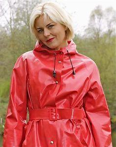 #RaincoatsForWomenRed
