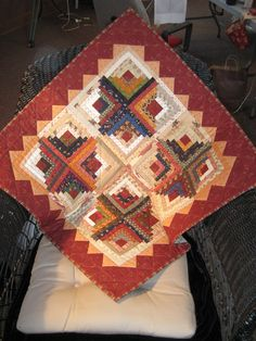 Pattern called Heartland Crossing quilt by Pam Buda for Prairie Women's Sewing Circle club.