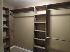long narrow closet ideas - Google Search