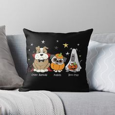 Promote | Redbubble Halloween Decorations, Throw Pillows, Toss Pillows, Decorative Pillows, Halloween Prop, Decor Pillows, Scatter Cushions, Halloween Jewelry