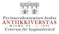 Antiikkiwerstas Wilma, Salo.  Antiikkiwerstas Wilman verkkokaupassa on  perinnerakentamisen tuotteita, tilauksesta restaurointi- ja konservointitöitä ja uustuotantoa.