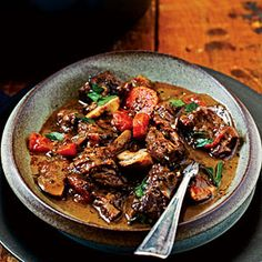Italian Beef Stew Recipe | MyRecipes.com
