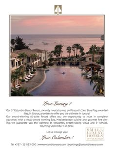 """Thank you for sharing Salutions! """"Love luxury? Love holidays? @SLHLuxuryHotels have something for you. Why not indulge at their Columbia Beach Resort?"""""""