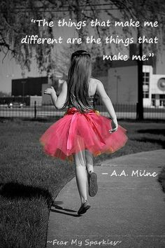 Dare to be different ✿⊱╮