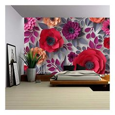 Wall Mural Planet Earth in Rotation with a Bright Light Wall26 100x144 inches