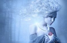 Snow Queen by ImaginaryRosse.deviantart.com on @deviantART