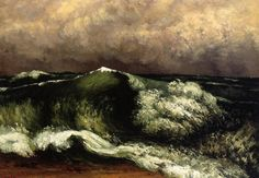 Onde, Gustave Courbet, 1869