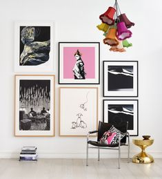 Inger Sitter | Dot dot dot | Per Kleiva Mattias Härenstam | Søssa Magnus | Per Kleiva Bedroom Wall, Art Decor, Home Decor, Gallery Wall, Fine Art, Art Prints, Interior Design, Frame, Fresh Start