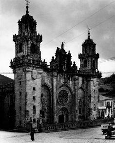 Catedral de San Martiño de Mondoñedo, Lugo, 1961