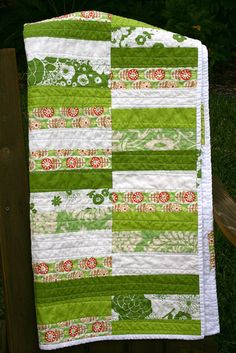 Green Meadow Quilt by bulabean on Flickr