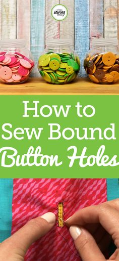Want to learn how to create beautiful and easy bound button holes? Well, Kim Lee provides you with helpful tips and techniques for sewing easy bound button holes. Bound button holes are tailored details that can elevate your garments from homemade to designer. Go through each step with Kim and see a few of her examples. Be inspired to make a beautiful new garment with bound button holes.