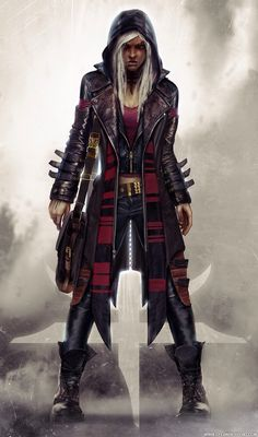 Looks like a modern day sorta wizard, urban fantasy character inspiration