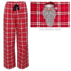 Santa is Too Cool Flannel Pajama Pants