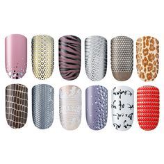 Essie Gets In On the Nail Appliqué Trend. I have the script writing one on right now..love it! :)