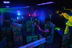 Laser Tag Arena | Wazee's World Laser Zone