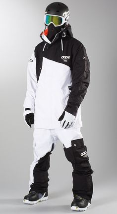 Wintersport Clothing Combo - Black & White