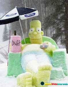 The 20 Funniest Snow Sculptures of All Time