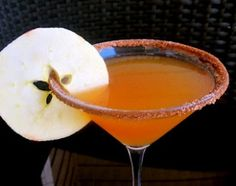 Fall Caramel Appletini