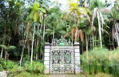 Primeiro portão colocado na área do Parque do Estado nos idos de 1894 para dar acesso a captação de água para o bairro do Ipiranga em São Paulo.