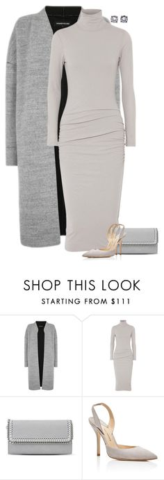 """Untitled #7113"" by lisa-holt ❤ liked on Polyvore featuring Warehouse, James Perse, STELLA McCARTNEY, Paul Andrew and Bottega Veneta"