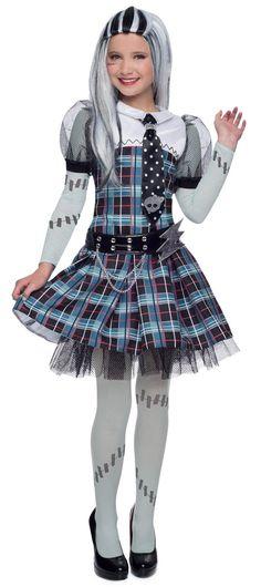 Princess Paradise Monster High Frankie Stein Premium Dress-Up Set - Girls Cumple Monster High, Monster High Party, Halloween Costumes For Girls, Costumes For Women, Costume Halloween, Halloween Recipe, Women Halloween, Halloween Projects, Halloween Halloween