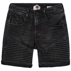 Black short from the Daley Blind X Vingino collection. Black Shorts, Black Denim, Jean Shorts, Daley Blind, Collaboration, Bermuda Shorts, Men's Fashion, Sweater, Boys