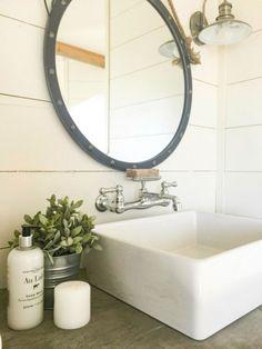 19 Amazing Farmhouse Master Bathroom Remodel Ideas