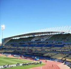 Royal- Bafokeng Sport Palace. South Africa (traveling from Pretoria to Klerksdorp)