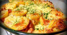 zapiekanka z kiełbasą, cebulą i śmietaną, tania zapiekanka, zapiekanka ziemniaczana, najlepsze zapiekanki ziemniaczane, danie z pieca, prosta zapiekanka ziemniaczana,, ziemniaki, kiełbasa, cebula, śmietana, ser żółty, tani obiad, jejkuchnia, jej kuchnia, facebook Backyard Patio Designs, Kielbasa, Potato Salad, Mashed Potatoes, Cauliflower, Casserole, Food And Drink, Lunch, Meat