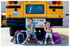 I GOT to find a bus!!! I want to do this! being Chalee's first year she may be riding the bus to school