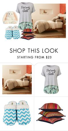 """""""Goodnight Polyvore"""" by livinglifeincolorannie ❤ liked on Polyvore featuring West Elm and Leisureland"""