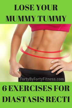 Exercises for Diastasis Recti - Forty By Forty Fitness Lose your mummy tummy - 6 exercises to help correct Diastasis Recti - Forty by Forty Fitness Post Baby Workout, Mommy Workout, Pregnancy Workout, Sport Fitness, Fitness Diet, Health Fitness, Fitness Workouts, Enjoy Fitness, Weight Workouts
