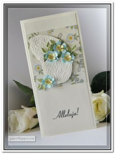 Paper Quilling, Quilling Cards, Holiday Cards, Cardmaking, Projects To Try, Paper Crafts, Paper Cutting, Spring, Scrapbooking