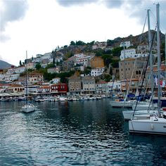 Hydra, one of the three most beautiful ports of Greece #Greece