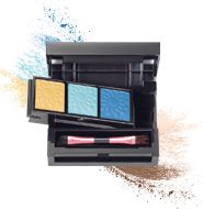 mark Color Swing Mix It Up Eye Palette - Proof that things aren't always one sided: this ingenious palette, featuring 3 super-trendy bright shades on one side and 3 go-to neutral shades on the other! http://youravon.com/reneemoreau