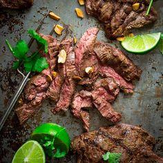 Healthy Steak Grilling Recipes | Easy BBQ Recipe Ideas | Thai Coconut Skirt Steak Recipe | DIY Projects & Crafts by DIY JOY